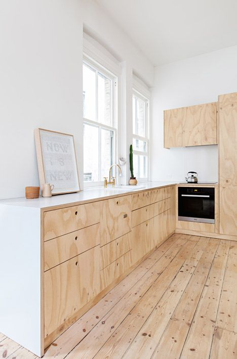 Plywood Kitchen | Dezeen