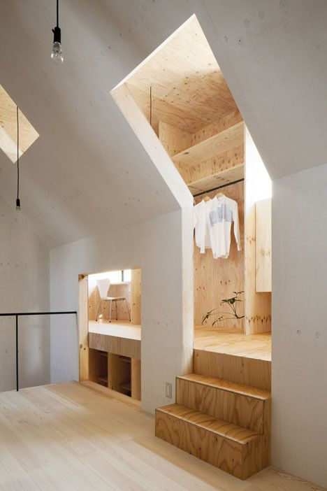 Plywood | Dezeen | Ma-Style Architects