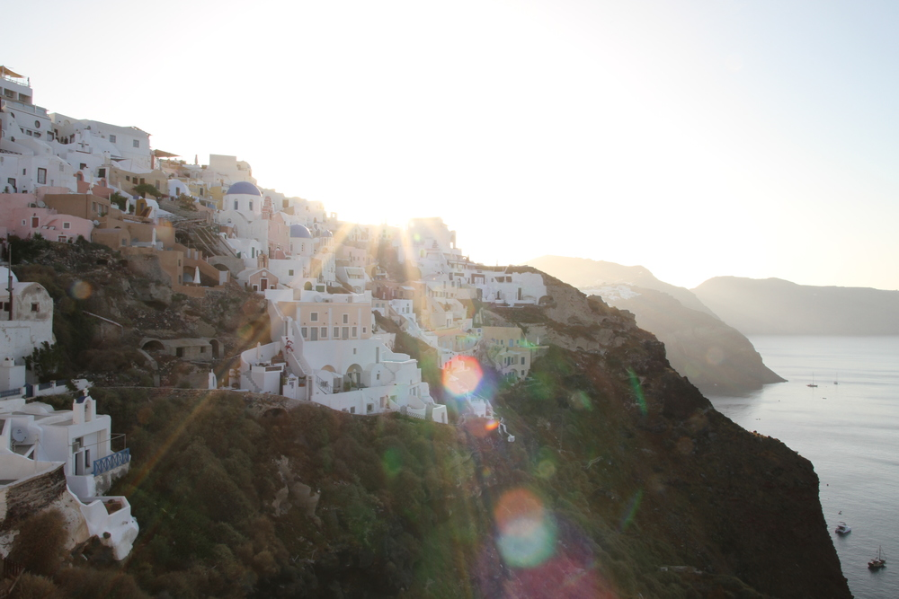 Oia Santorini Sunrise - Greece
