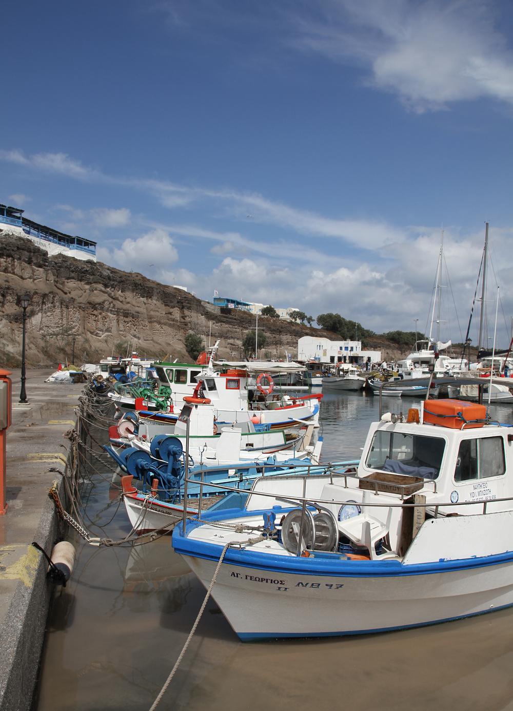 Fishing Boats | Santorini | Greece