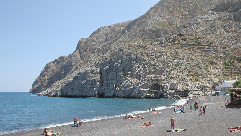Kamari Beach | Santorini | Greece