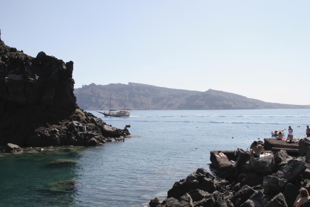 Swimming | Amoudi | Oia | Santorini | Greece