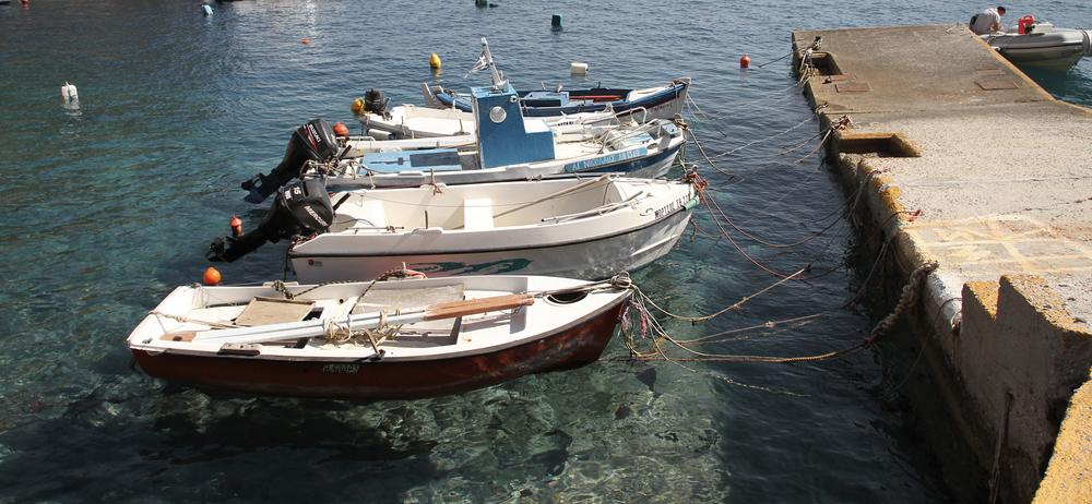 Boats | Amoudi | Oia | Santorini | Greece