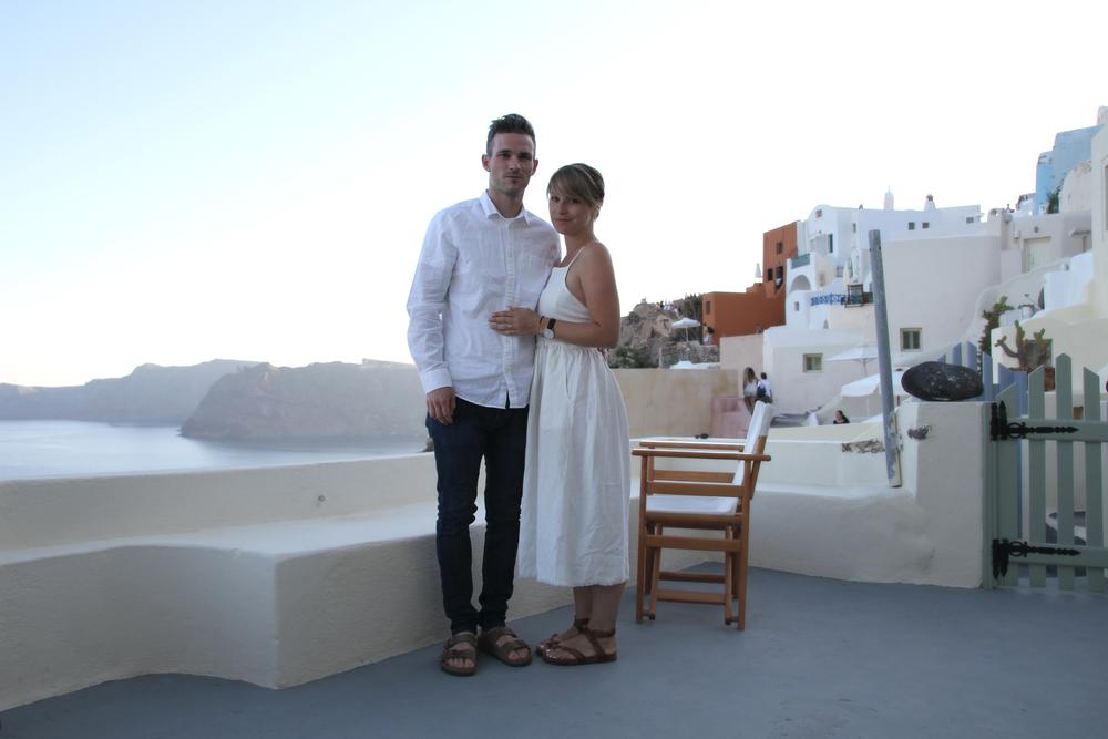 Tyler + Laura | Oia | Santorini | Greece