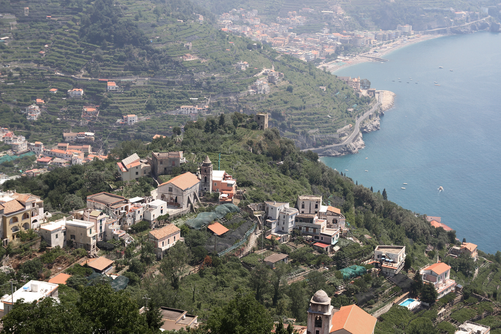 Ravello makes for a great drive and an even better view of the coast from above.