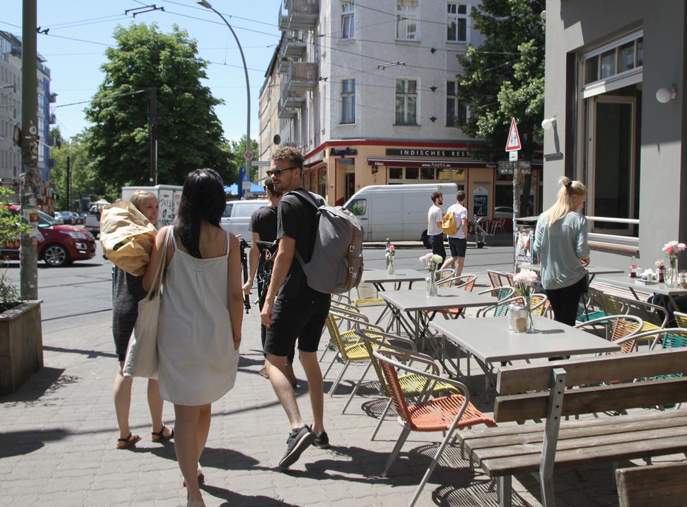 Napoljonska, Berlin