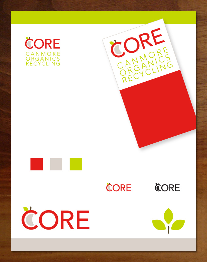 CORE Organics logo and branding