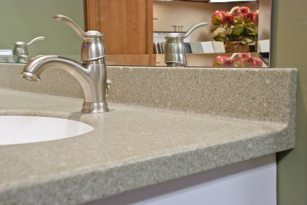 Countertop replacement sterling surfaces solid surface for Replacing backsplash