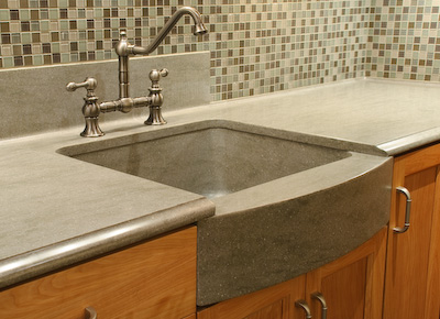When A Homeowner Remodels Their Kitchen They Want It To Stand Out. Having A  One Of A Kind Kitchen Is Very Pleasing. A Custom Solid Surface Sink Can Be  That ...
