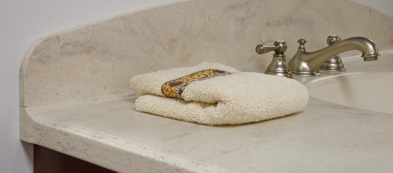 Most countertop surfaces can only offer the standard 4