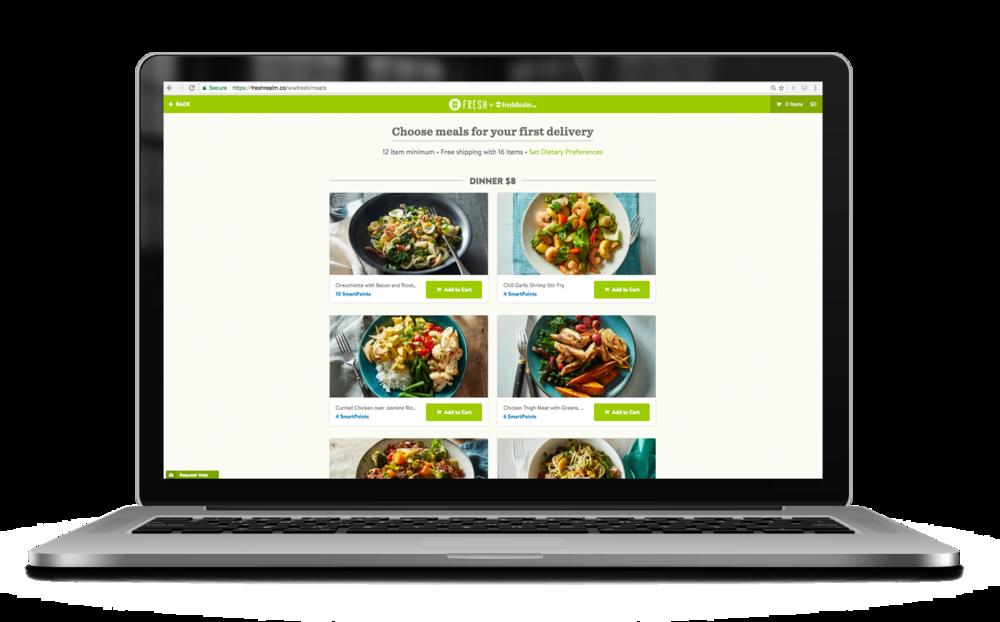 FreshRealm Mela Plan_laptop_pick meals.png