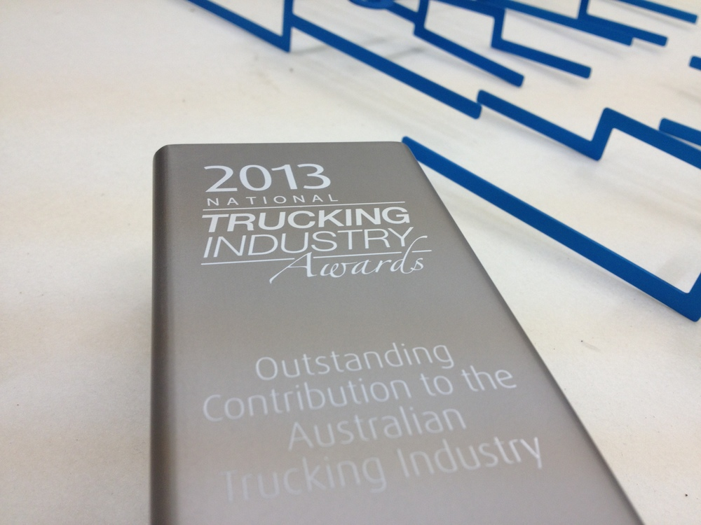 The winners will be announced next month at the annual Foundation Sponsors Awards Dinner as part of Trucking Australia 2013.