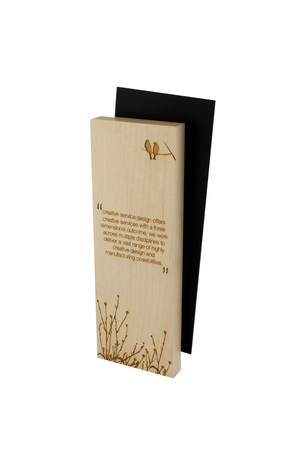 modern plaque design, sustainable plaque, sustainable trophy, sustainable award, eco award, eco trophy, eco trophies