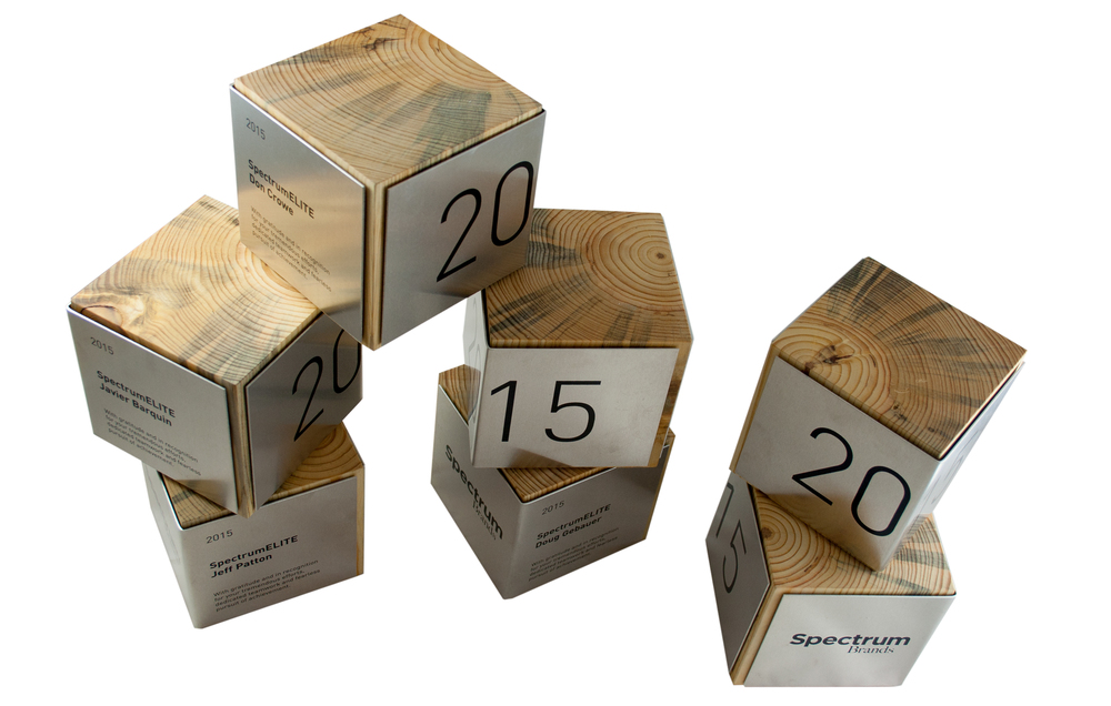 block awards - custom awards that are eco-friendly and sustainably built