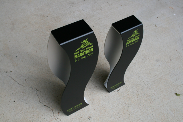 gold coast marathon trophies