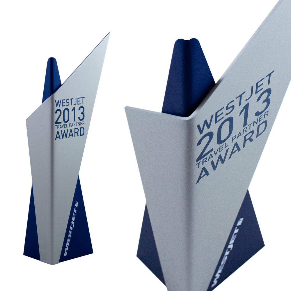 westjet - corporate recognition custom awards