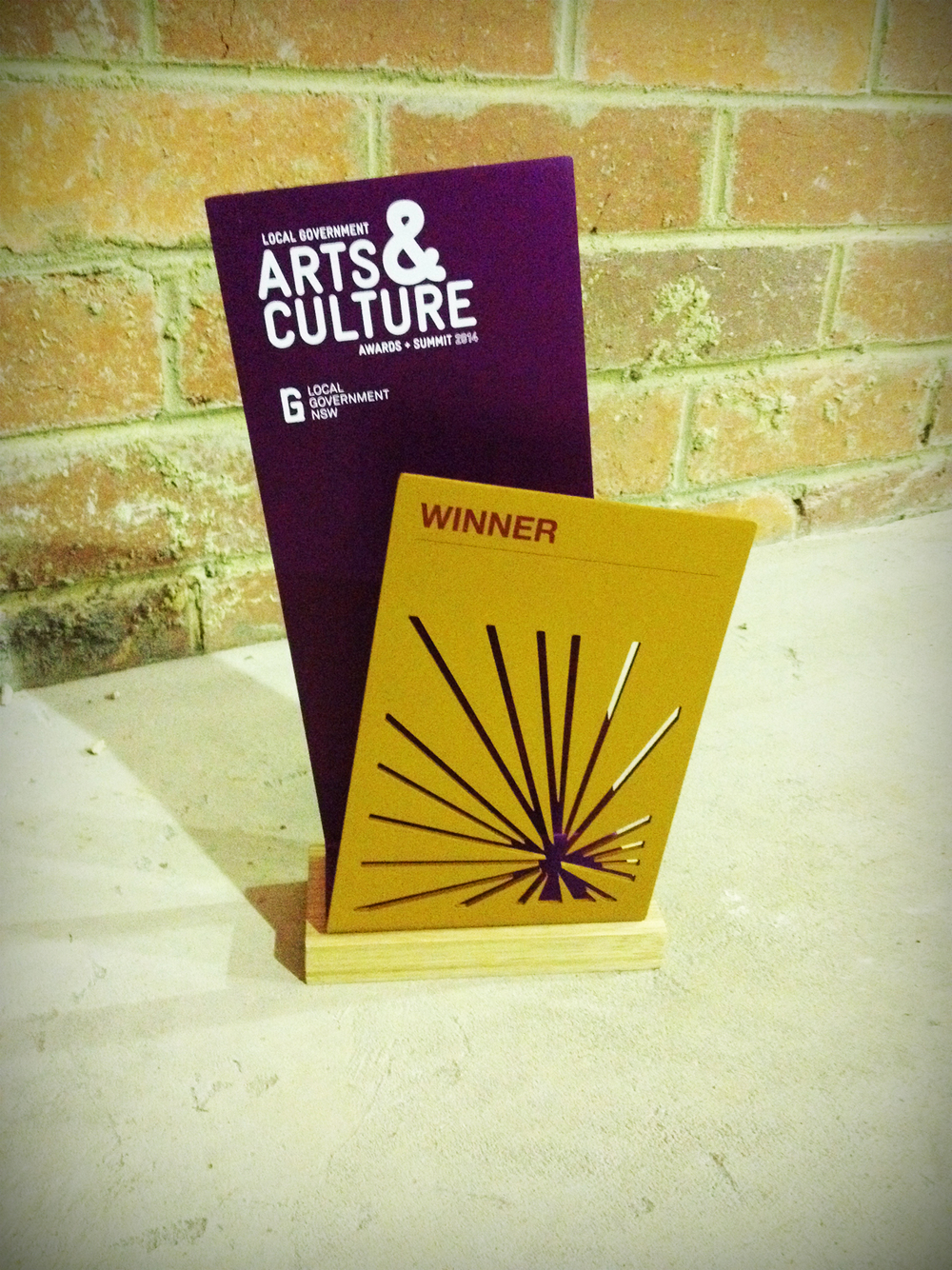 arts council creative awards great design