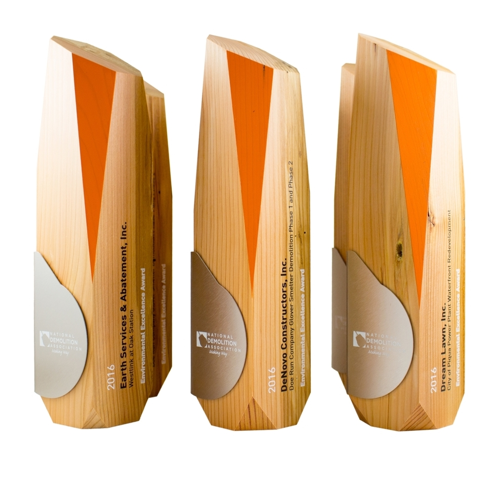 Sustainable Eco Friendly Trophies Awards Gifts And Corporate Recognition Products For USA