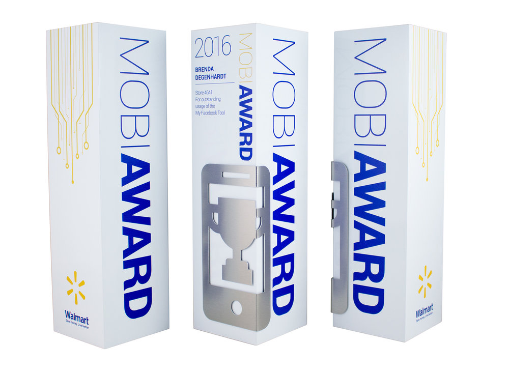 walmart usa custom awards modern