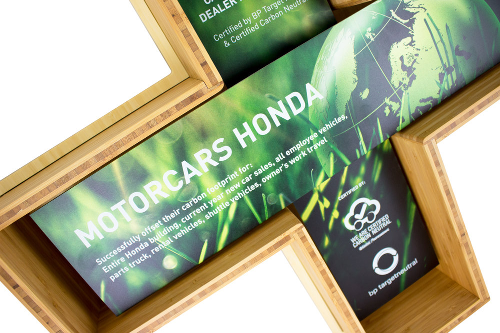 Motorcars Honda has now become the world's first carbon neutral car dealership