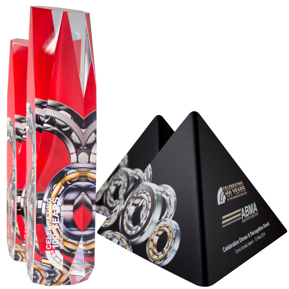 american bearing manufacturing association - custom awards