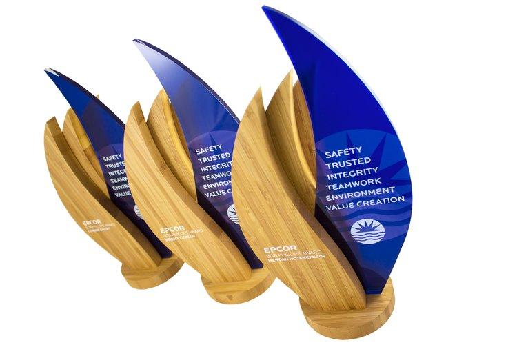 Epcor Custom Award Trophy Designs