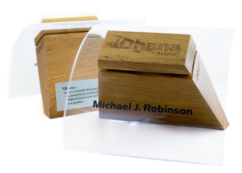 ohana - custom modern awards