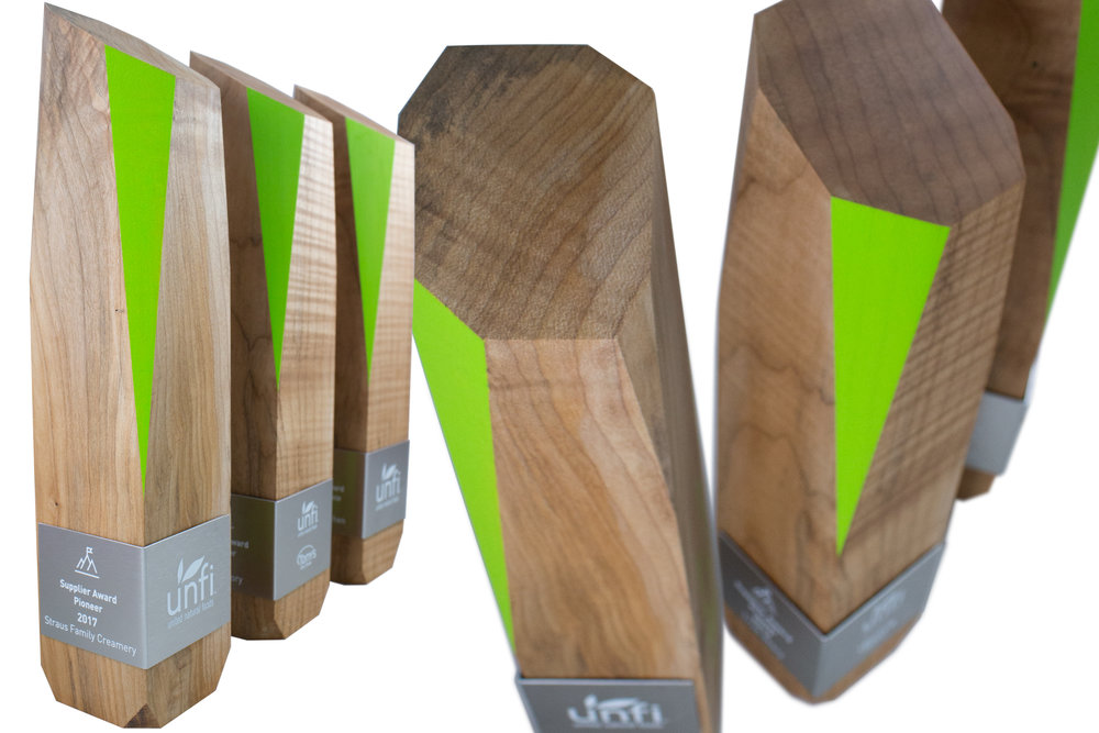 unfi-bespoke-awards-in-beautiful-recovered-maple-wood