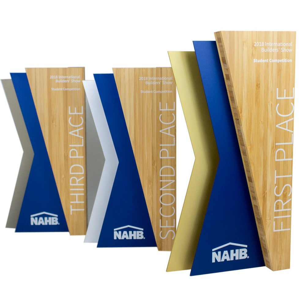 nahb national association of home builders awards not glass or crystal