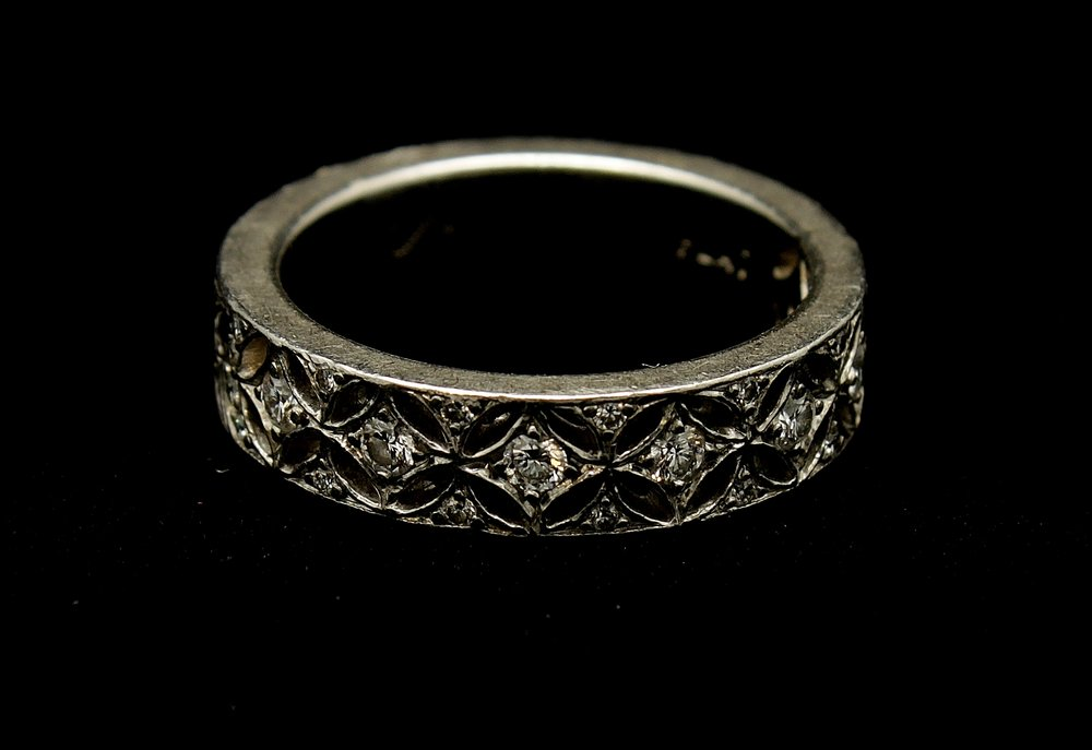 Vintage Platinum Diamond Ring .70cts Ring