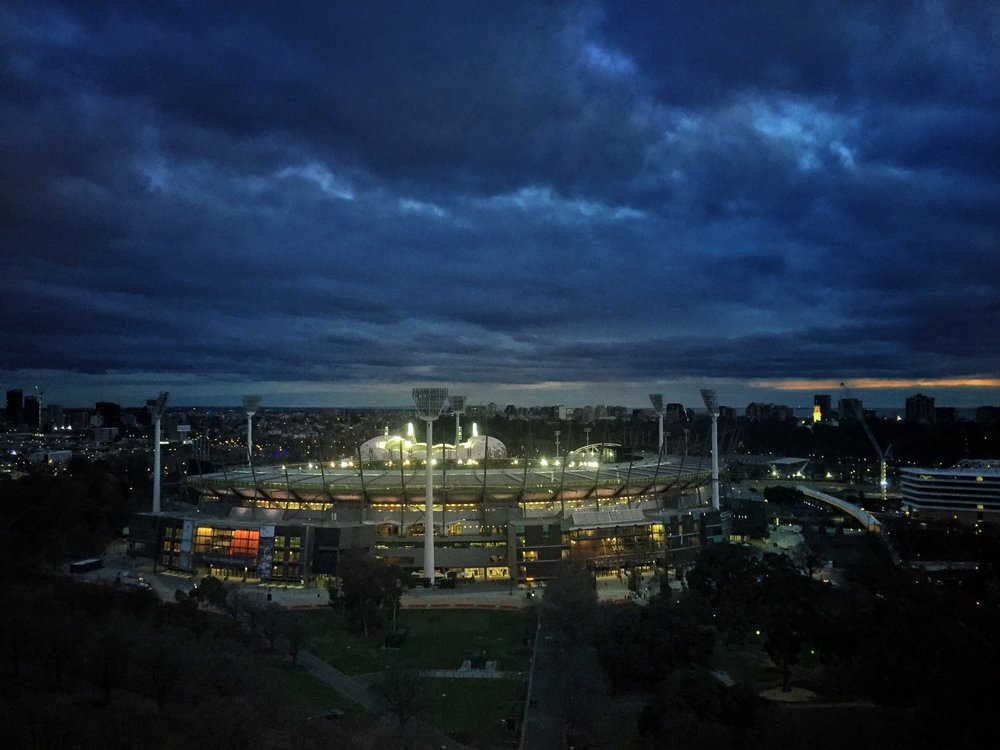 Twilight at the 'G'