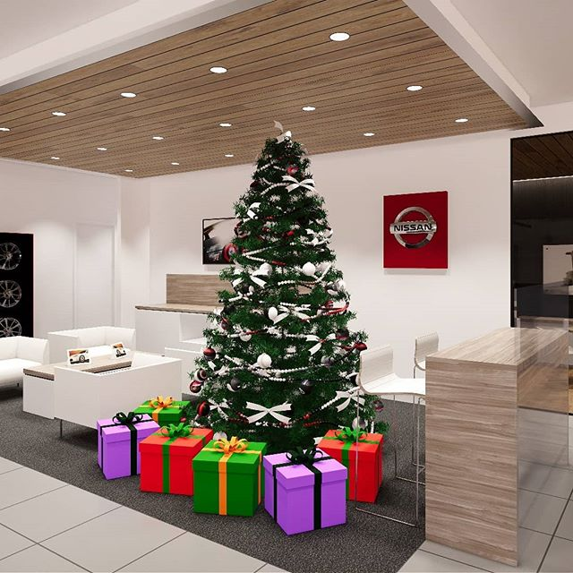 Seasons Greetings from Ardent Architects  #archdaily #architecture #melbourne #melbourneinteriors #nissan #nissanaustralia #christmas #render #revit