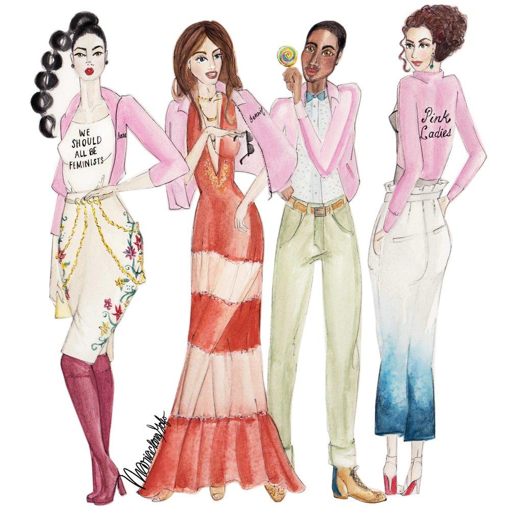 2k17 Pink Ladies