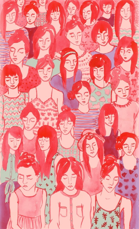 painting by  Leah Goren