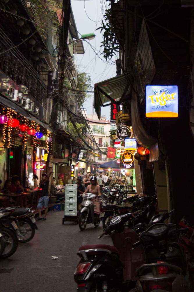 Hanoi Old Town.