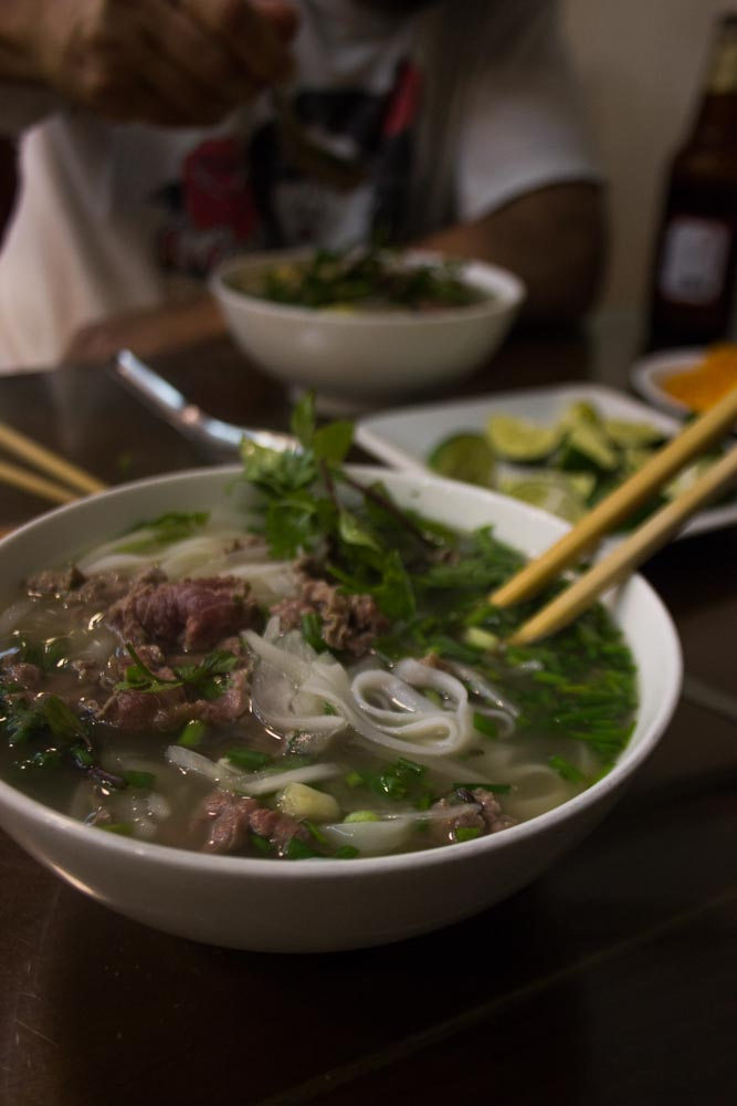 Best. Pho. Ever. Pho 10 in Hanoi's Old Town.
