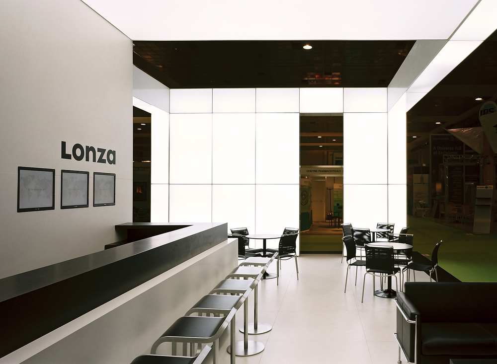 Lonza Corporate Stand for CPHI