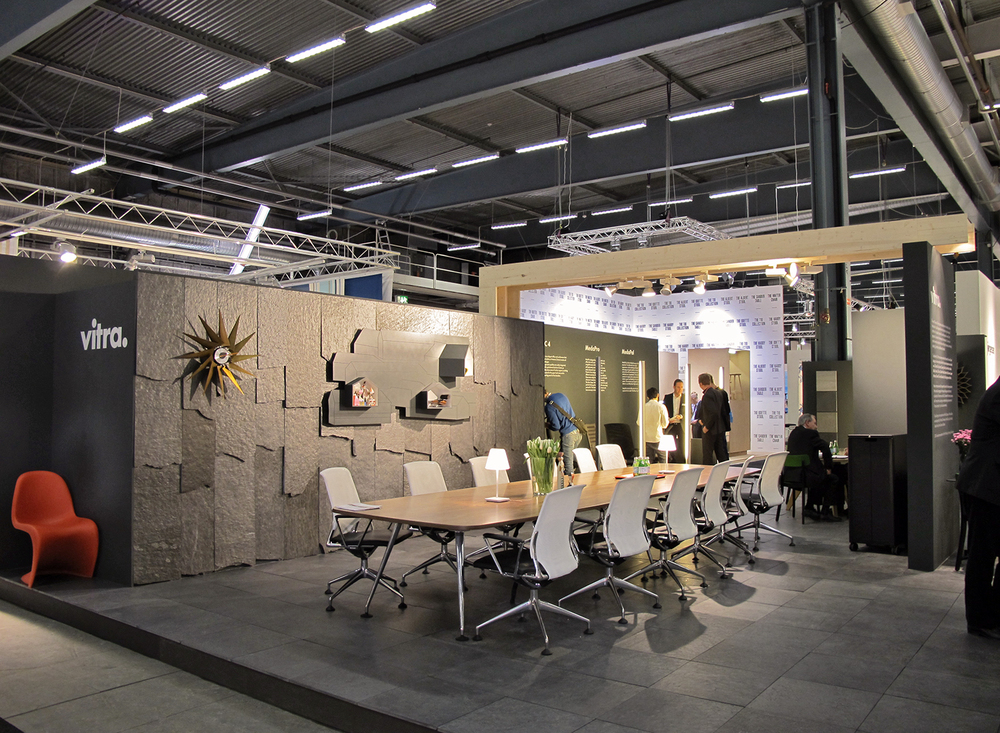 Trade fairs tribolet architecture for Furniture exhibition