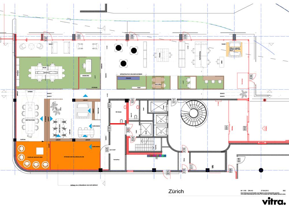 Vitra for Dealer Work-Showroom, Zürich - CH