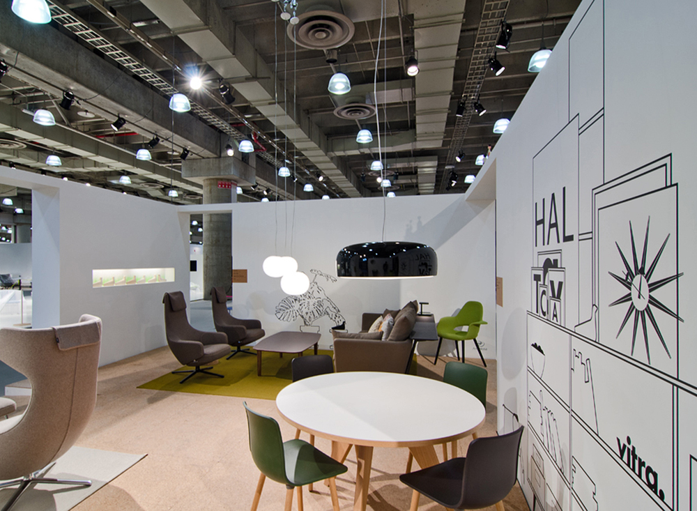 Vitra Stand at ICFF, New York - USA