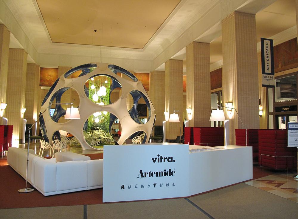 Vitra Lounge for Art Chicago 2009, Chicago - USA