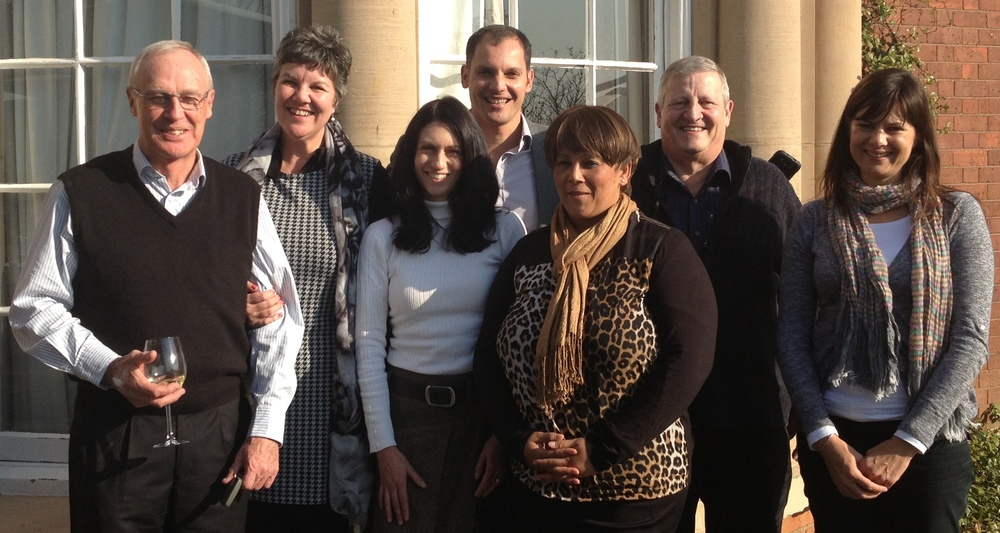 Richard Henwood, Lynn pretorius, sophia kontos, james kydd, shireen nwanebu, doug greenshields and lara smith.