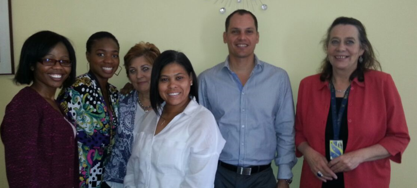 FROM LEFT TO RIGHT: MILLICENT MOTHEOGANE, ADANMA   YISA  , YOLANDA PATERSON, CELINE STEYN, JAMES KYDD (DEVMAN) TESSA MURRAY