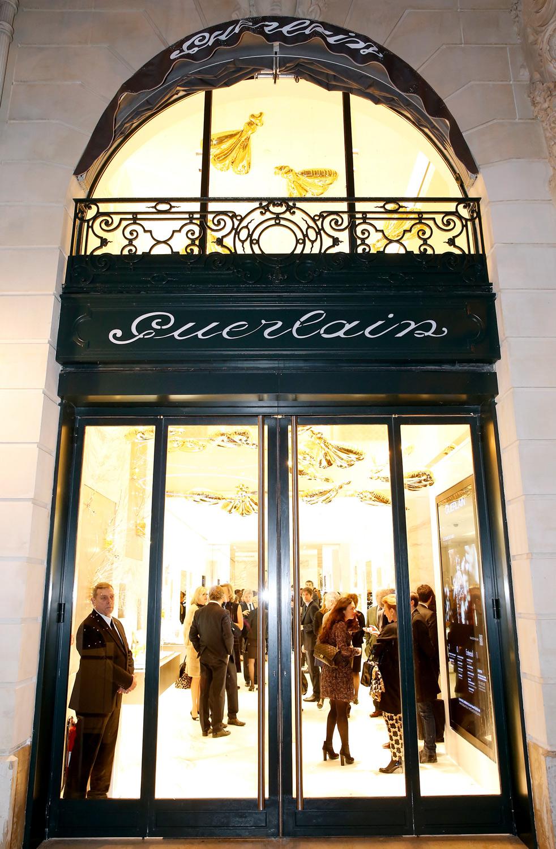 Maison Guerlain Paris Entrance Inflated Bees