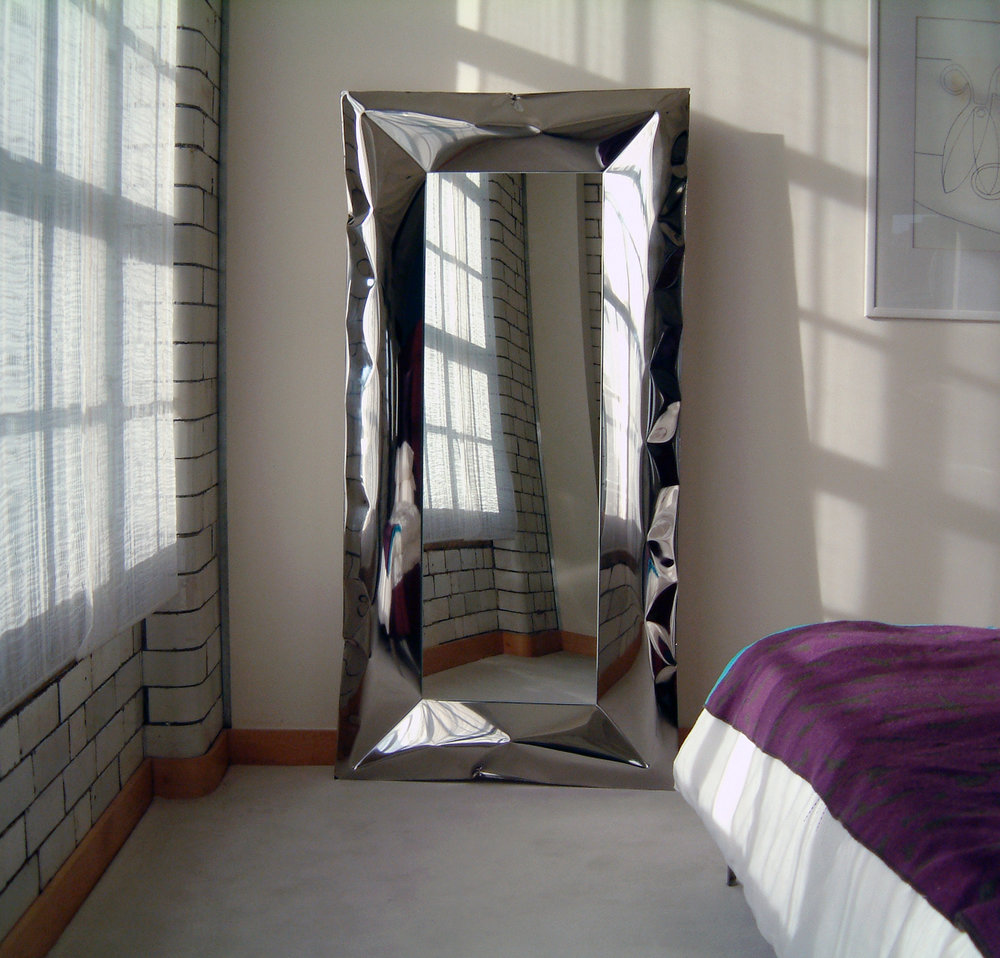 blown stainless steel mirror