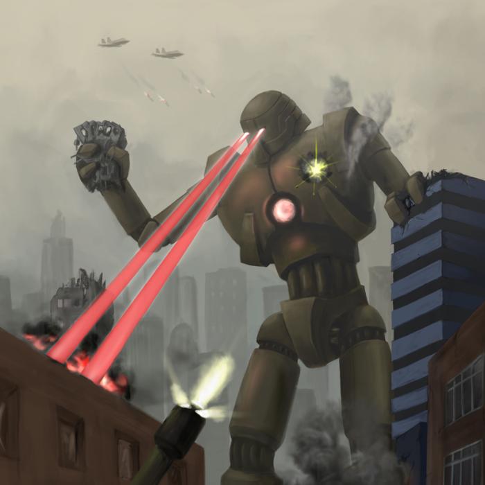 Robot attacks!