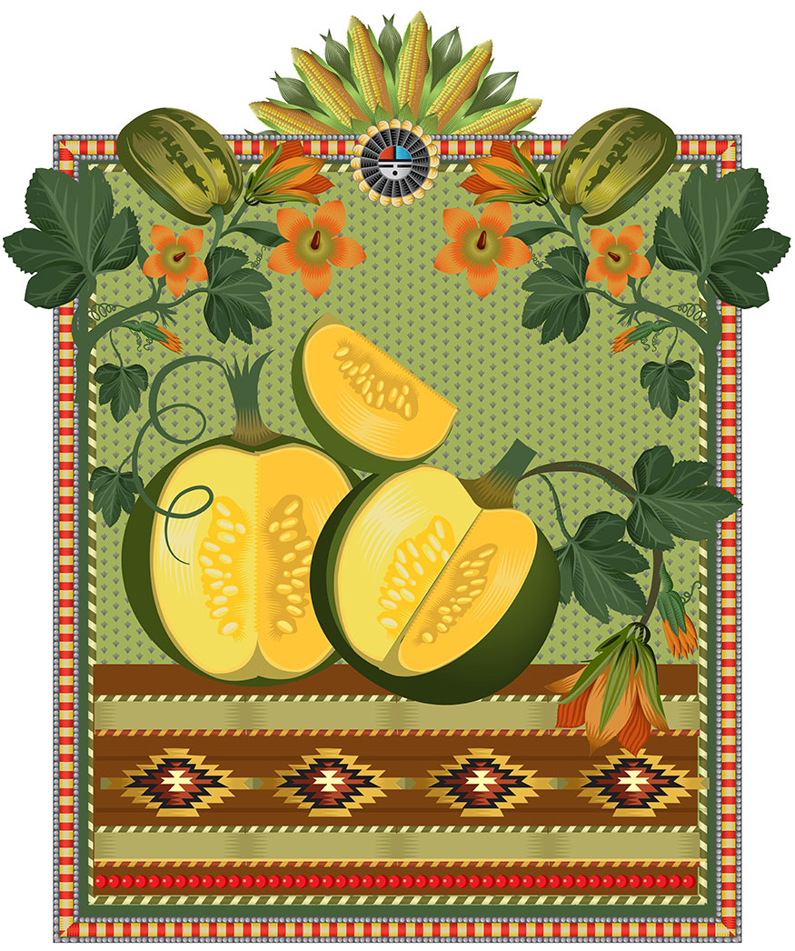 Little Gems, Q. Cassetti, 2013, Trumansburg, NY, Adobe Illustrator CC