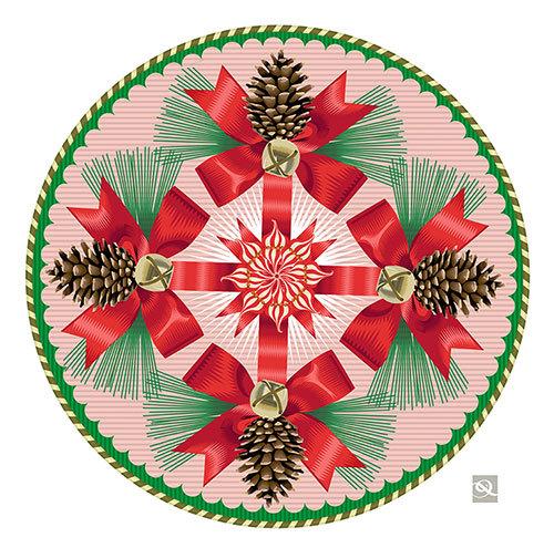 Peppermint Swirl, Q. Cassetti, 2013 Trumansburg, NY. Adobe Illustrataor