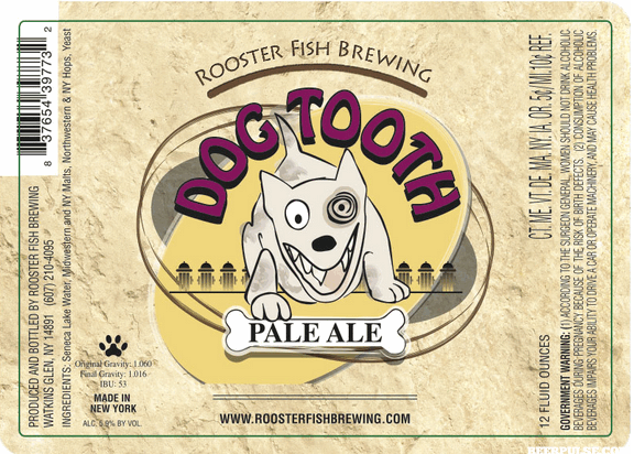 Former Roosterfish: Dogtooth Pale Ale.