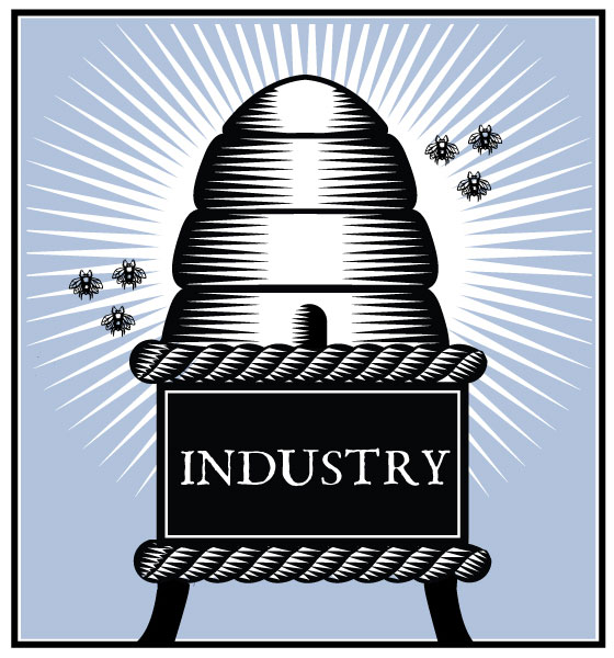 Industry, Q. Cassetti 2014, Adobe Illustrator CC